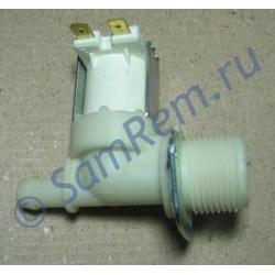КЭН ( наливной электромагнитный клапан ) стиральной машины D=12mm  (1 выход под 180 граусов по отношению ко входу ) 1-180