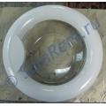 Дверь (люк) в сборе СМА LG 3581ER1005E белая аналог 3581ER1005A