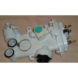 Нагревательный элемент (ТЭН) проточный 652216 ПММ Bosch, Siemens, NEFF, в корпусе