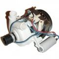 Помпа (насос) рециркуляции ПММ Indesit, Ariston в сборе,  мощность 45W, C00083478, с конденсатором