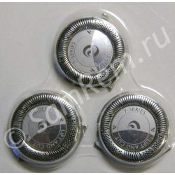 Бритвенные головки (режущий блок) бритвы Philips HQ8, комплект 3 штуки, 422203618451, SH5050