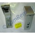 Ремкомплект (кронштейн) ручки Liebherr,цвет серебро, комплект 2 штуки, 9590124, 9590178