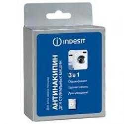 Средство от накипи (антинакипин) для посудомоечных и стиральных машин Indesit C00091214, C00091218, упаковка 300 грамм