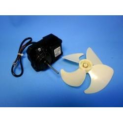 Двигатель (мотор) вентилятора холодильника Indesit, Ariston, C00283664, 283664, ДА075-0,6-2,5П-УХЛ2.1 + крыльчатка