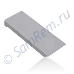 Накладка (толкатель)  ручки двери холодильника Liebherr  белая (7426362)