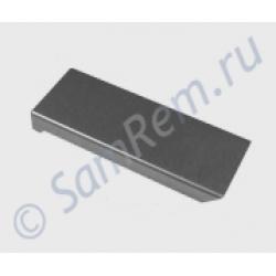 Накладка (толкатель) ручки двери холодильника Liebherr серебр (9290864)