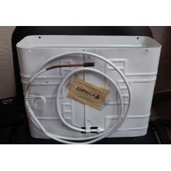 Испаритель холодильника Бирюса 2,3 , 1 канал, морозильная камера