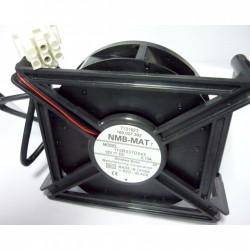 Двигатель вентилятора холодильника Indesit, NMB-MAT7, C00293764, 110R037D043 12V-0,13A W16002765600, крепление 90х130 mm