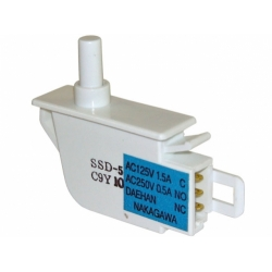 Выключатель света (одинарная кнопка) холодильника SAMSUNG, DA34-10108K