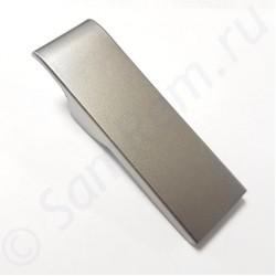 Накладка (заглушка) ручки двери холодильника Samsung, DA63-03197A, серебро
