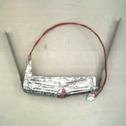 Нагреватель испарителя холодильника Samsung, DA97-00339B, на фольге, 14W
