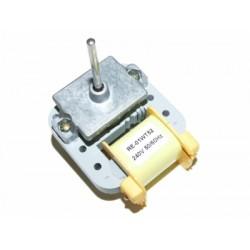 Двигатель вентилятора холодильника Samsung аналог желтый, RE-01WT52, YZF052,  шток 38 мм, Ø 0,4