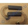 Щетки для электродвигателя стиральной машины 6х10 х35 с клеммой (N20) комплект 2 штуки