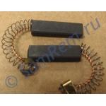 Щетки для электродвигателя стиральной машины 6х10х35 с клеммой (N20) комплект 2 штуки