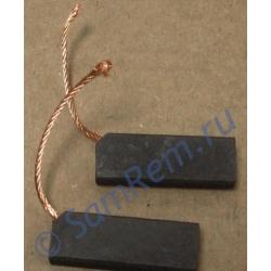 Щетки для электродвигателя стиральной машины 5х12,5х32 провод с угла (N52C) Италия комплект 2 штуки