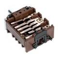 Переключатель режимов духовки плиты HANSA 8002198, 8050043, с креплением для термостата, EGO 46.23866.650