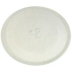 Блюдо (тарелка) СВЧ PANASONIC, диаметр 245 мм, с креплениями под коуплер, Z06015G10XN