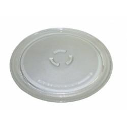 Блюдо (тарелка) СВЧ Whirlpool 481246678407, 481946678405, C00312776, C00320106  D=275 mm, с креплением
