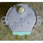 Двигатель вращения поддона СВЧ LG, SSM-16HR, 21V, 3W,5/6RPM, пластиковый шток H=6mm, 6549W1S002B = 6549W1S011A  21V 2.5/6 r.p.m.