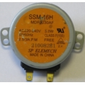 Двигатель вращения поддона СВЧ  SSM-16H (MDFJ030AF) (220V, 2.5/3 об/мин)