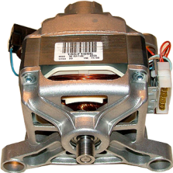 Двигатель (мотор) СМА Indesit, Ariston, C00074209, отжим12800 об/мин 370w