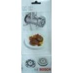 Комплект решеток мясорубки Bosch  (3мм и 6мм) MUZ45LS1 359500, 462864, 573026