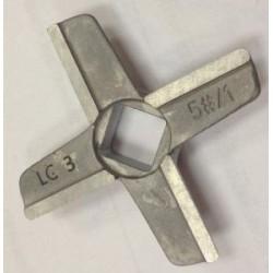 Нож мясорубки Bosch, MFW45020, 629848, аналог 020468, ø 46,7мм; толщина 9,1мм