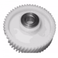 Шестерня мясорубки ELENBERG, Panasonic, с металлической втулкой в середине, D=45мм, d=18мм, H=35мм, d=12мм, d отверстия 8 мм