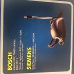 Пылесборник бумажный одноразовый BOSCH,SIEMENS, BS-03, 1 штука