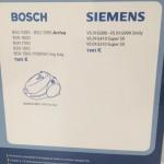 Пылесборник микроволокно одноразовый BOSCH,SIEMENS, BS-07, 1 штука