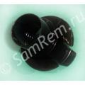 Фитинг (крепление)  шланга 2 защелки для пылесосов Samsung DJ61-00035B