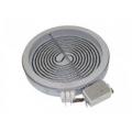 Электрическая конфорка плиты универсальная 1200W, стеклокерамика, D=165mm, D=145mm, C00327340, 481231018887, 480121101514, однозонная
