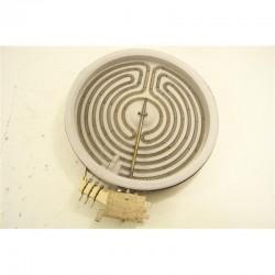 Электрическая конфорка плиты универсальная,1700W стеклокерамика D=200mm, D=180mm EGO 60.25177.000, C00139053