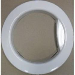 Обрамление люка СМА Samsung, DC63-00748A, внешнее, белое
